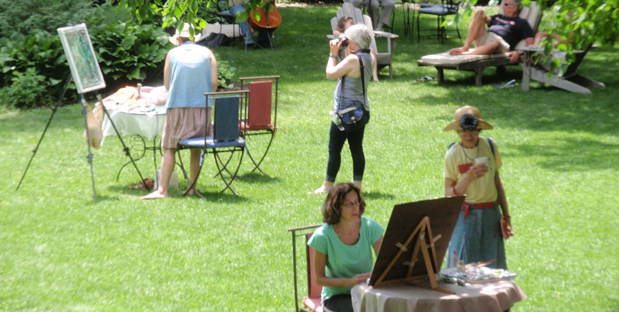 Artists in the Gardens